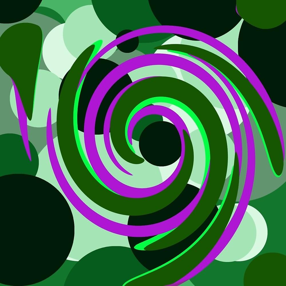 Circle Swirl by blindharmony