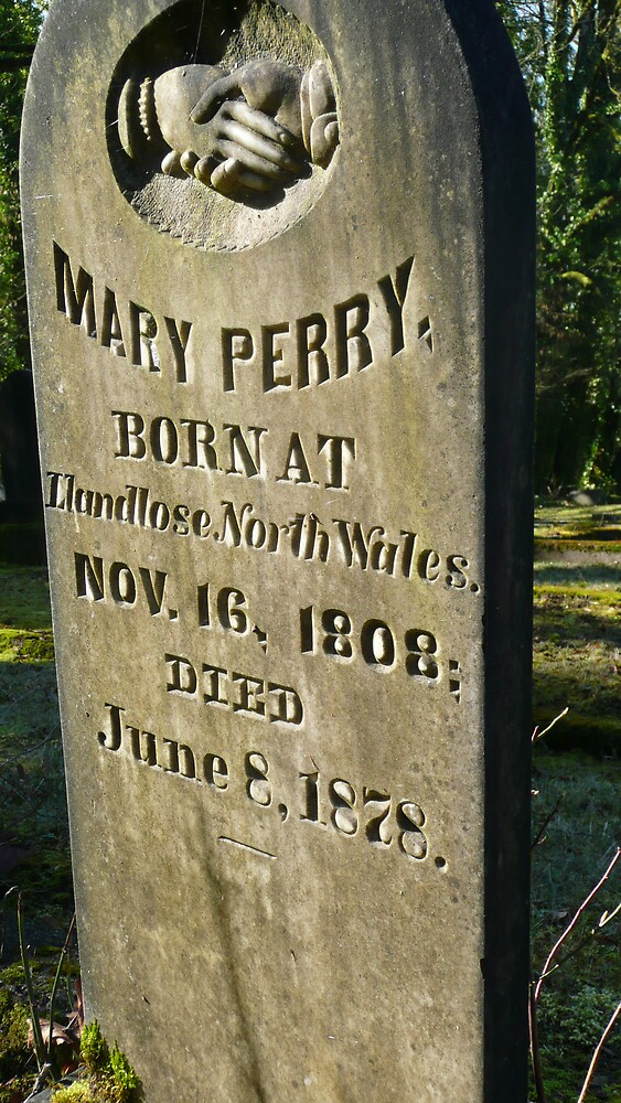 mary perry lies here by Mary Ellen Hurley