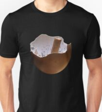 Eggshell Ashtray Unisex T-Shirt