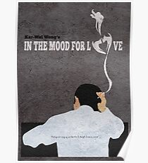 In the Mood for Love Minimalist Alternative Movie Poster Poster