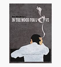 In the Mood for Love Minimalist Alternative Movie Poster Photographic Print