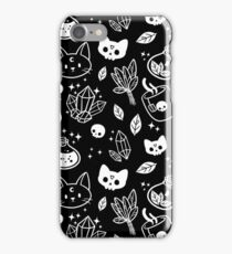 Herb Witch // Black & White iPhone Case/Skin