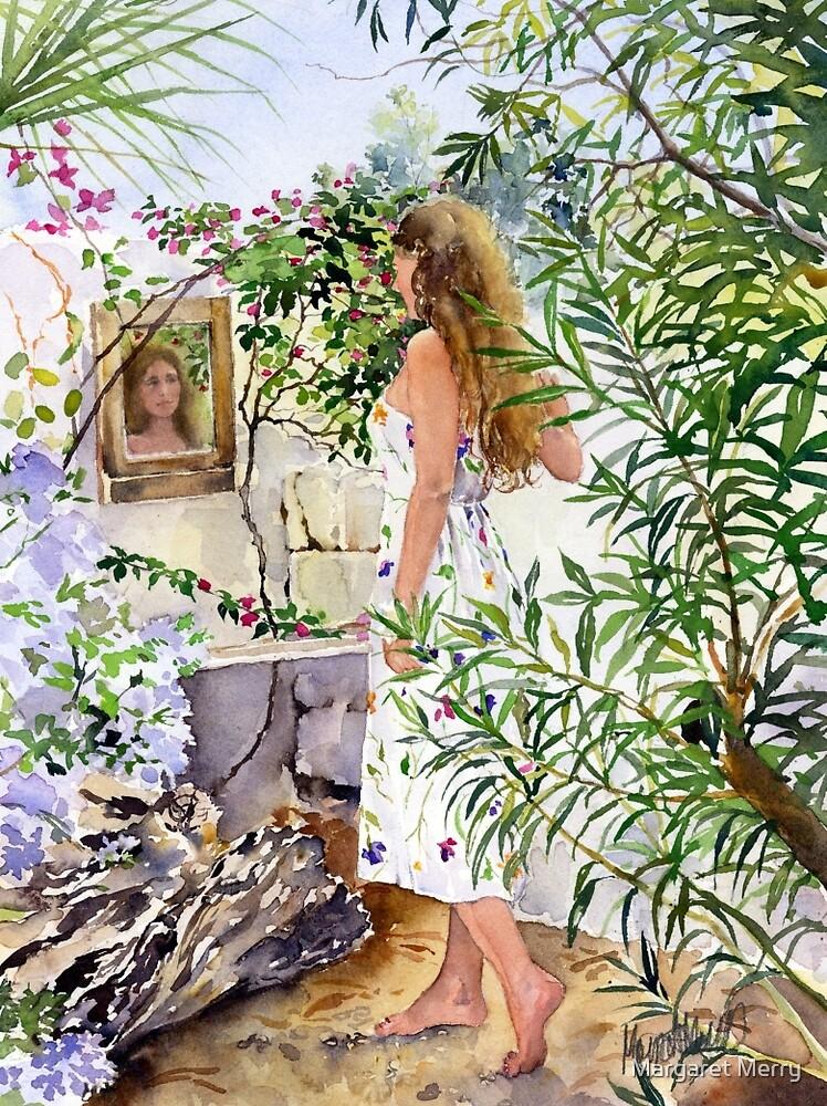Garden Reflection by Margaret Merry