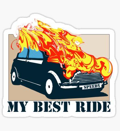 Best ride shirts Sticker