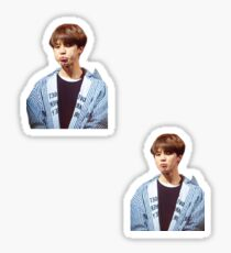 """Pouty"", Jimin Sticker Set Sticker"