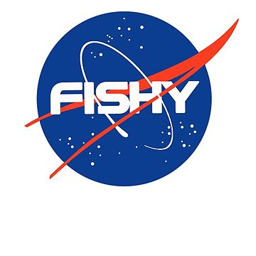 """Fishy"" - Nasa inspired logo by nationalpride"