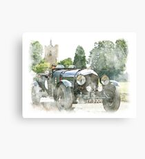 Classic Vintage Car Design Canvas Print