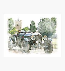 Classic Vintage Car Design Photographic Print
