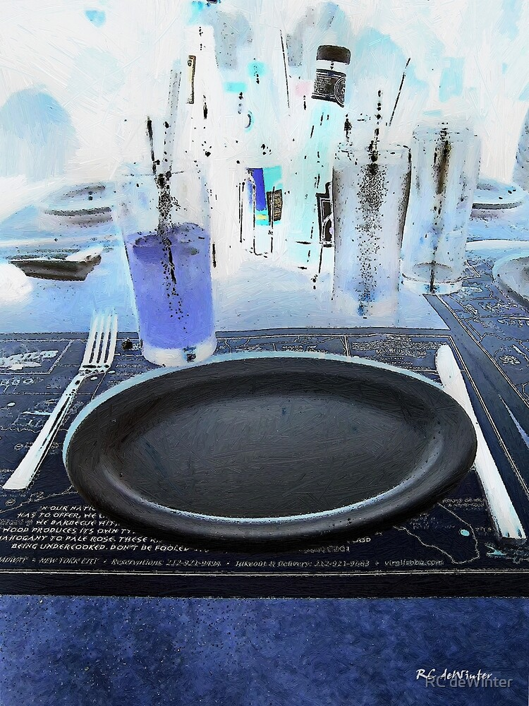 Ghost Dinner by RC deWinter