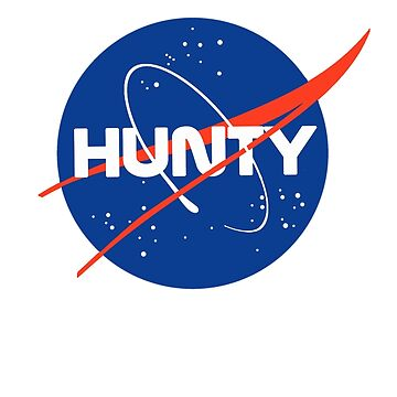 """Hunty"" - Nasa inspired logo by nationalpride"