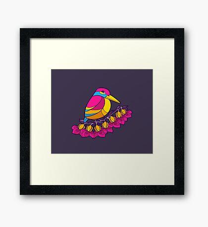 Pride Birds - Pansexual Framed Print