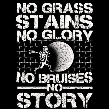 Hockey No Grass Stains No Glory No Bruises by koneksy23