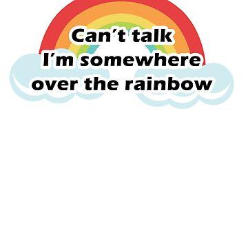 Over the rainbow by MissLuluBee