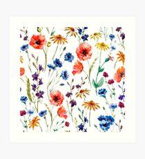 Blumenwahnsinn Kunstdruck