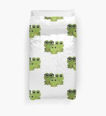 Frog Family Duvet Cover