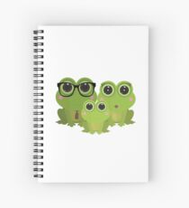Frog Family Spiral Notebook