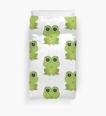 Female Frog Duvet Cover