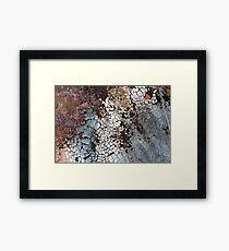 Set Asunder Framed Print