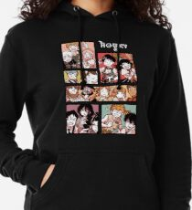Hooky Comic Seite Farbe Leichter Hoodie
