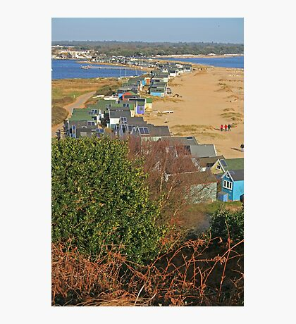 Mudeford Spit on Christmas Day Photographic Print