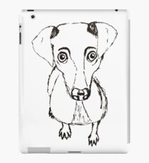 Simplistic Dog iPad Case/Skin