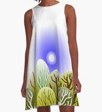 FOREST A-Line Dress
