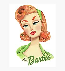 Barbie Ginger Photographic Print