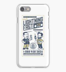 Lightning Fast VCR Repair iPhone Case/Skin