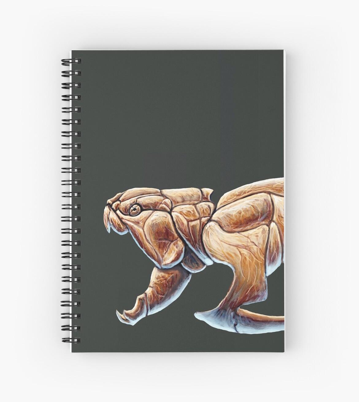 Cuadernos de espiral «Estudio del esqueleto de Dunkleosteus Terrelli ...
