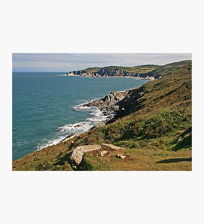 Rockham Bay & Bull Point, North Devon Photographic Print