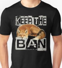 KEEP THE BAN 2 Unisex T-Shirt