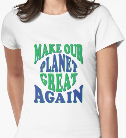 Retro Style Make Our Planet Great Again T-Shirt