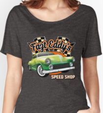 Fast Eddy Speed Shop Women's Relaxed Fit T-Shirt