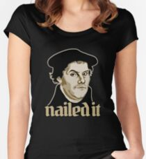 Martin Luther Nailed It Women's Fitted Scoop T-Shirt