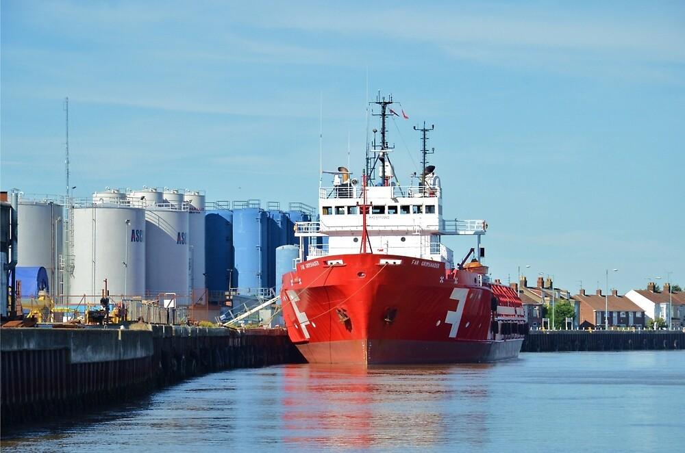 Supply Vessel Far Grimshader by Malcolm Snook