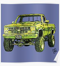 Bubba Truck Poster