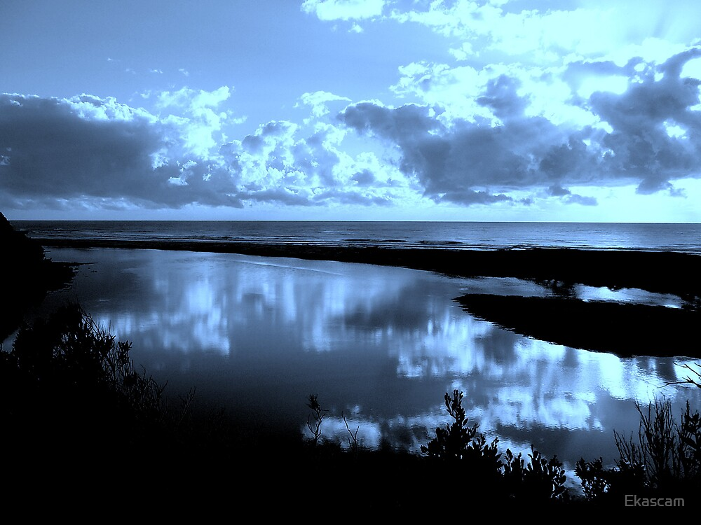"FEELING ""BLUE"" by Ekascam"
