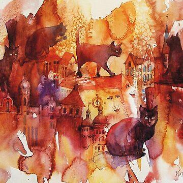 Cats by klozowski