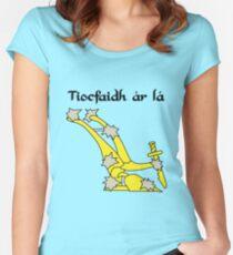 Tiocfaidh Ár Lá Starry Plough Women's Fitted Scoop T-Shirt