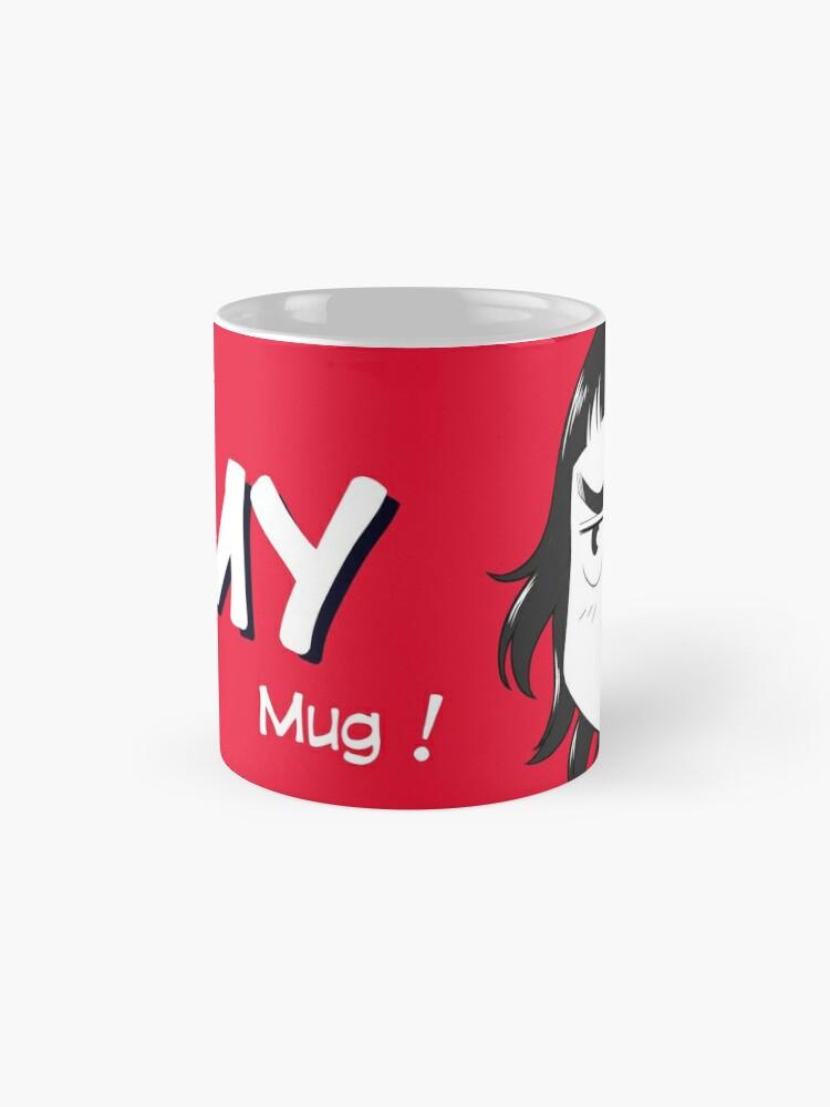 Mug ''8-OPTIONS.COM - EN - MY MUG - RED - 10$ for the Authors': autre vue