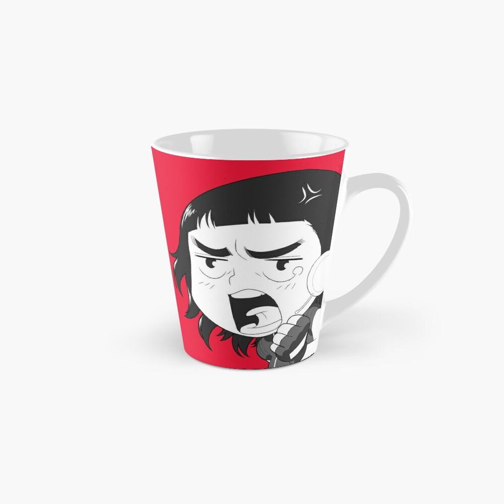 Mug long «8-OPTIONS.COM - EN - MY MUG - RED - 10$ for the Authors»