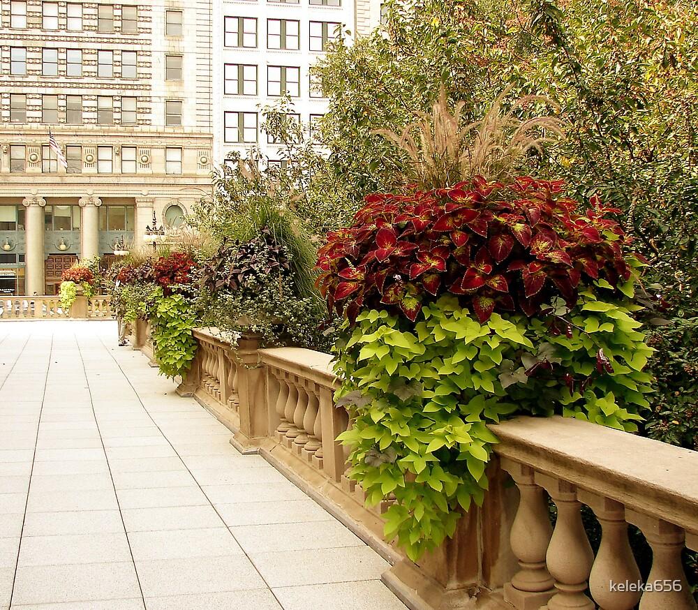 Chicago Sidewalk by keleka656