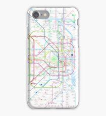 Tokyo subway metro map iPhone Case/Skin