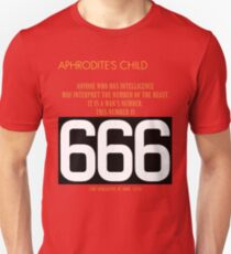 Aphrodite's Child - 666 T-Shirt
