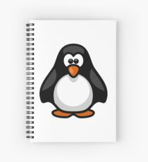 penguin Spiral Notebook
