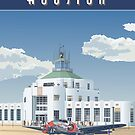 Houston Municipal Airport, 1940  by contourcreative
