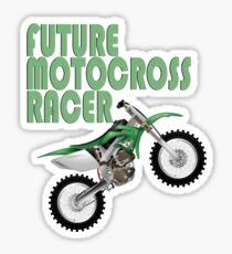 Future Motocross Racer Sticker
