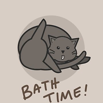 Bath Time! by fiftyoneart