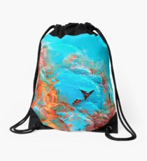 Pillow Lava Drawstring Bag