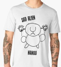 Sad Alien Nanoo Men's Premium T-Shirt